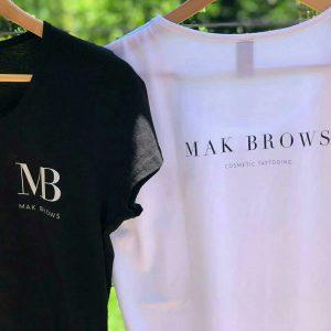 screen printing newcastle mak brows